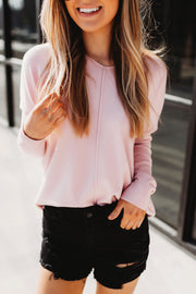 The Delilah Sweater (Baby Pink) FINAL SALE
