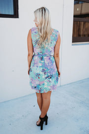 Pure Blooms Floral Dress (Green)