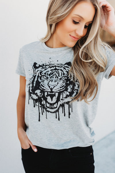 Fiercely Fashionable Tee (Grey)
