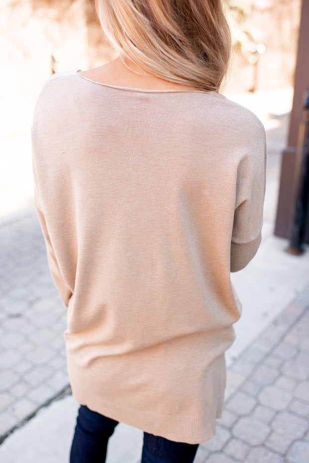 All The Good Things Sweater (Tan)