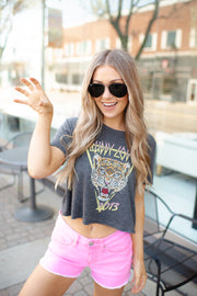 Buddy Love Cropped Tiger Tee