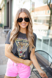 Buddy Love Cropped Tiger Tee -FINAL SALE