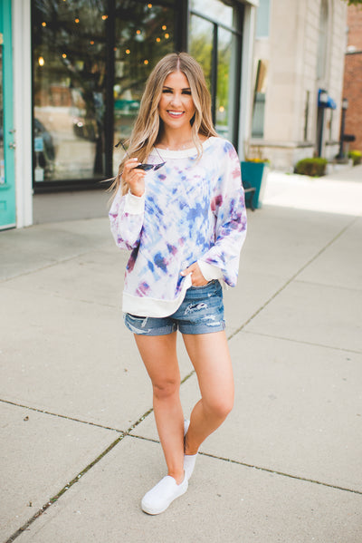The Lilo Tie Dye Top (Blue)