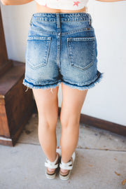 KanCan Gloria Denim Shorts