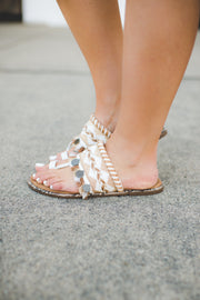 Blowfish Raelynn Sandals (Pearl White)