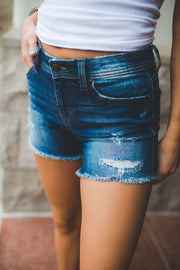 Eunina Riley Denim Shorts