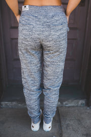 Breakfast In Bed Joggers (Marled Charcoal)