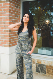 Gear Up Camo Jumpsuit