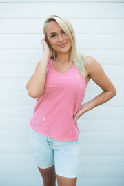 Z Supply Sunset Star Tank (Pink Sorbet)
