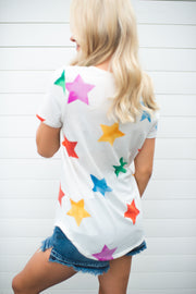 The Starlite V-Neck (Ivory) FINAL SALE