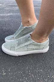 Gypsy Jazz Mallory Sneakers (Sage Grey) FINAL SALE