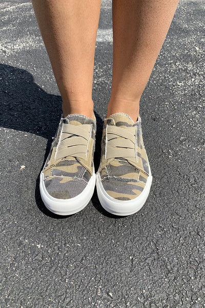Gypsy Jazz Mallory Sneakers (Camo) FINAL SALE