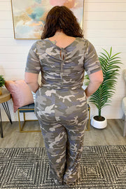 The Zia Jumpsuit (Dusty Camo) FINAL SALE