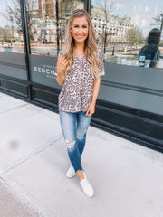 The Becca Tee (Leopard)