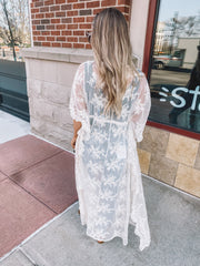 The Ivy Lace Duster (Ivory)