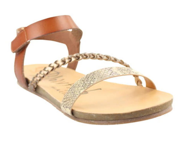Blowfish Goya Sandals (Snake/Amber)