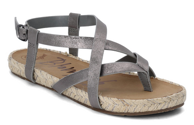 Blowfish Granola Rope Sandals (Silver)