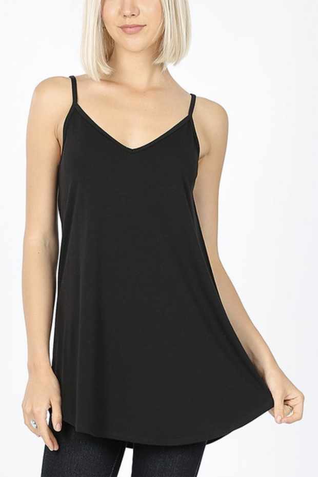 Reversible Tank Top (Black)