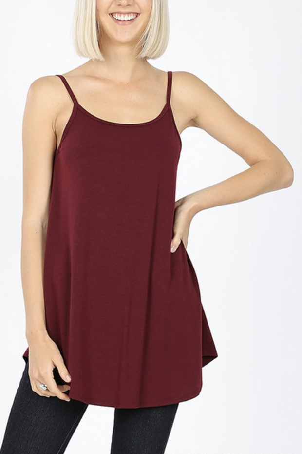 Reversible Tank Top (Dark Burgundy)FINAL SALE