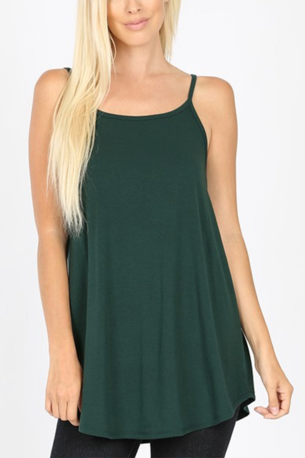 Reversible Tank Top (Deep Green)FINAL SALE