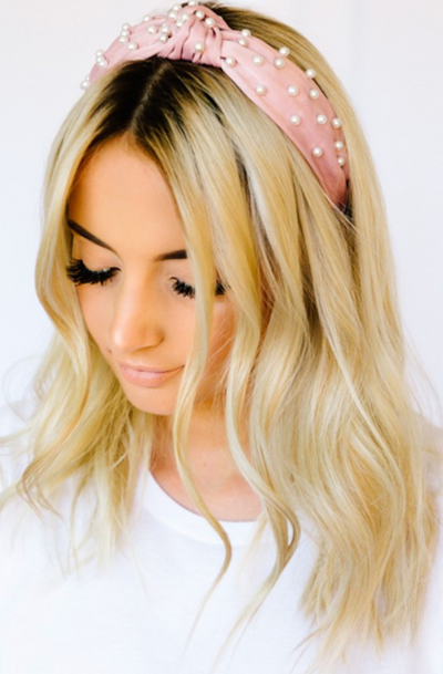Pearl Studded Headbands