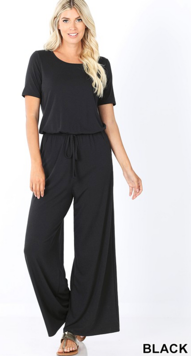 The Zia Jumpsuit (Black) FINAL SALE