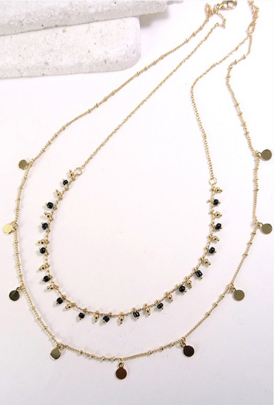 Double Layered Boho Necklace