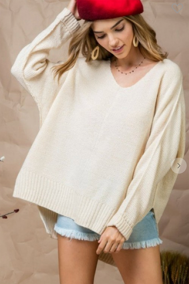 The Paris Knit Sweater (Ivory)