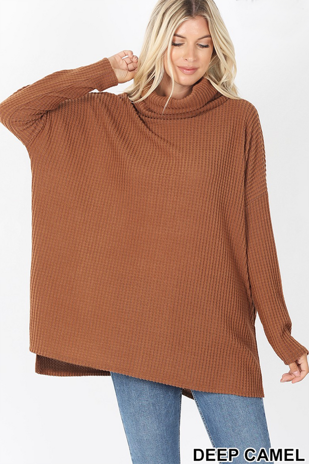 Coming Home To Stay Tunic (Deep Camel)