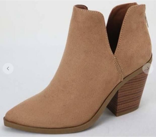 The Jo Beth Bootie (Tan)