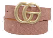 Weaved Material Girl Belts