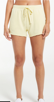 Z Supply Marina Washed Shorts (Key Lime)