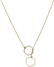 Esme Hexagon Necklaces (2 Colors)