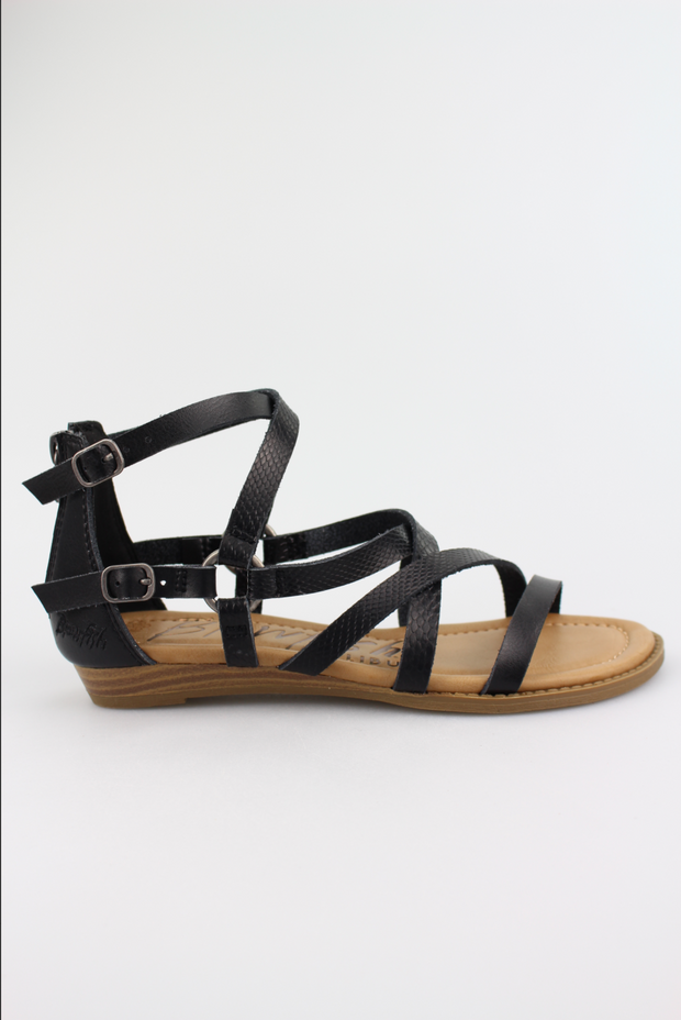 Blowfish Blithe Sandals (Black)