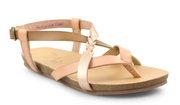 Blowfish Braided Sandal (Rosegold/Blush/Taupe)
