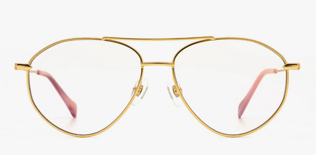Diff Eyewear Carolina Blue Light (Gold)