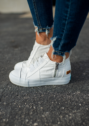 Blowfish Mamba Sneakers (White)