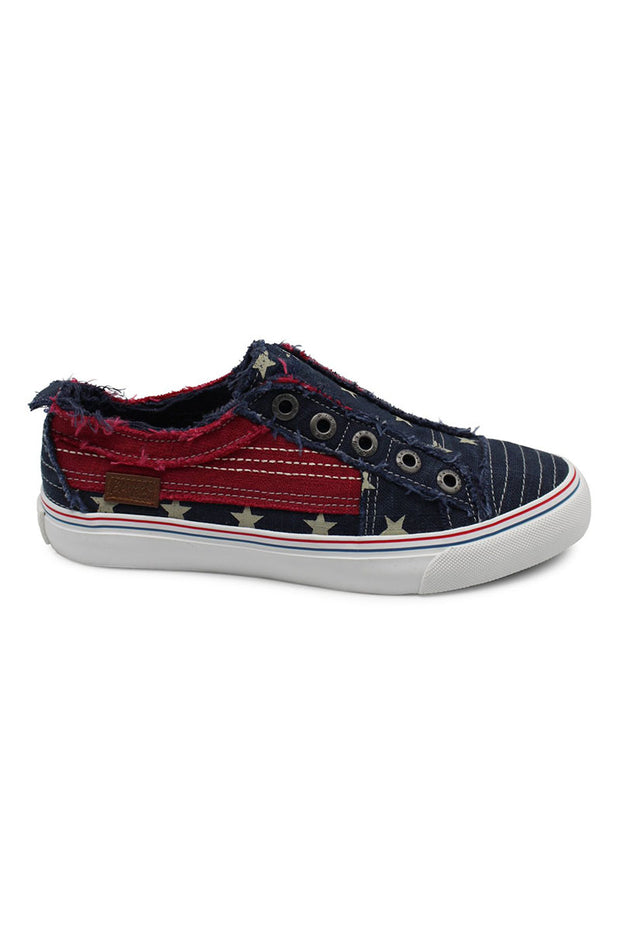 Blowfish Play Navy Star/Jester Red