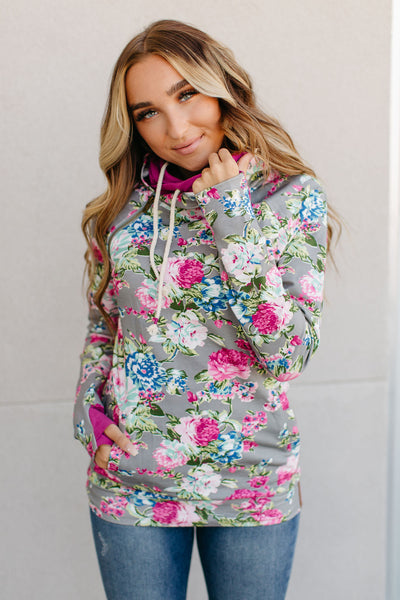 Ampersand Ave. Double Hoodie (Floral Frenzy)