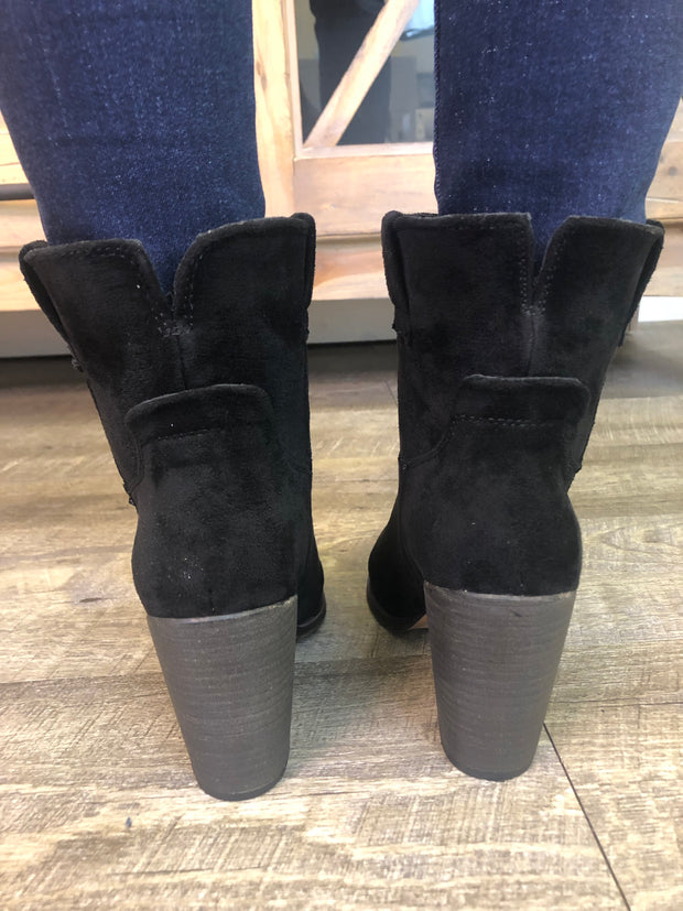 Very G Rosie Bootie (Black) FINAL SALE