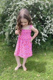 Buddy Love KIDS Vivienne Dress (Red Hot) FINAL SALE