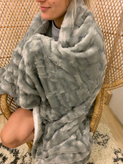 Sherpa Fleece Blankets (5 Colors/Prints)