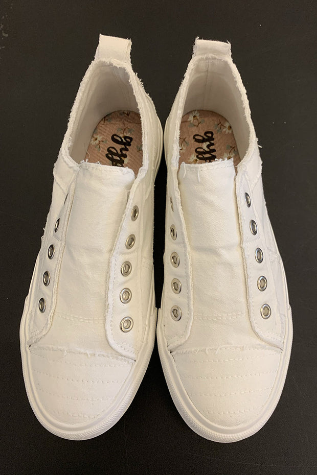 Gypsy Jazz Playful Sneakers (White)