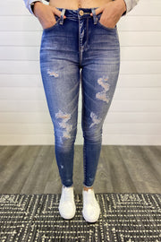 The Kris Distressed Skinny Jeans DOORBUSTER