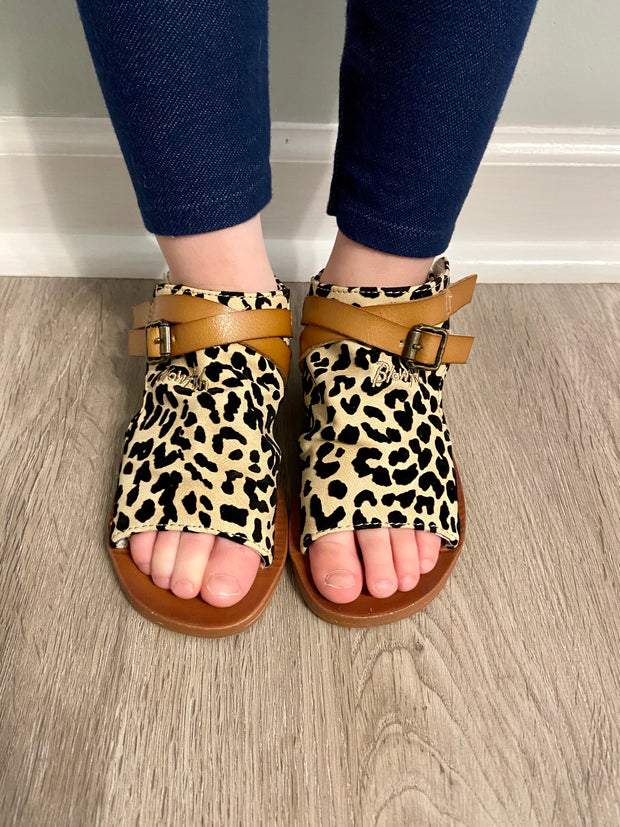TODDLER Blowfish Defsie Sandals (Leopard)