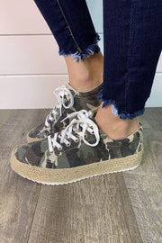 Very G Maria Sneakers (Camo) FINAL SALE