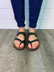 The Jonas Sandal (Black) FINAL SALE