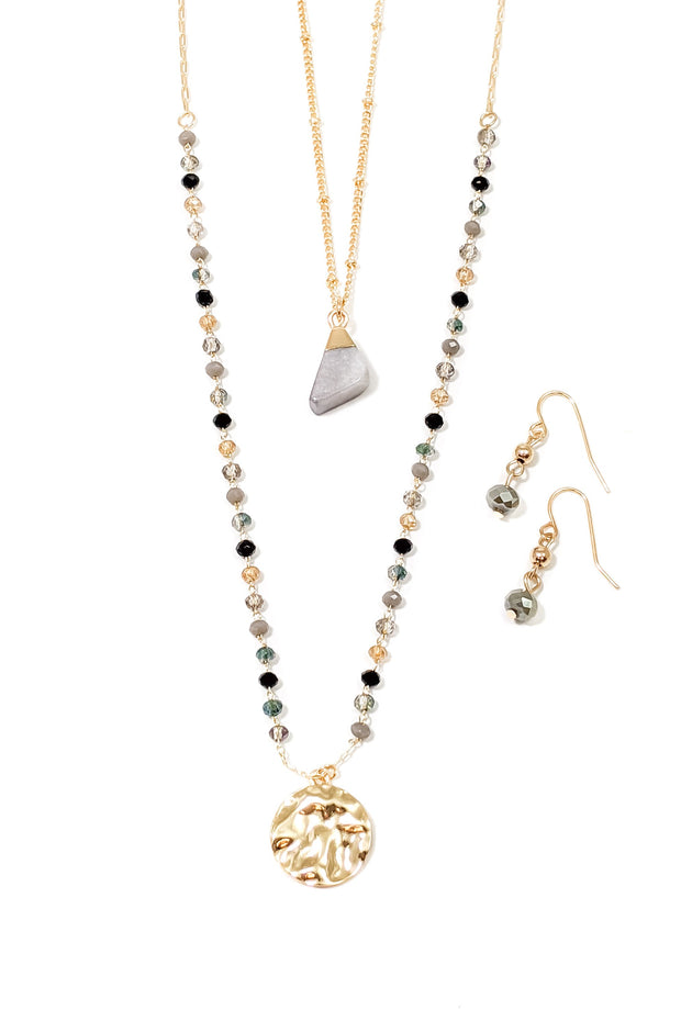 The Jaslyn Necklace/Earring Set