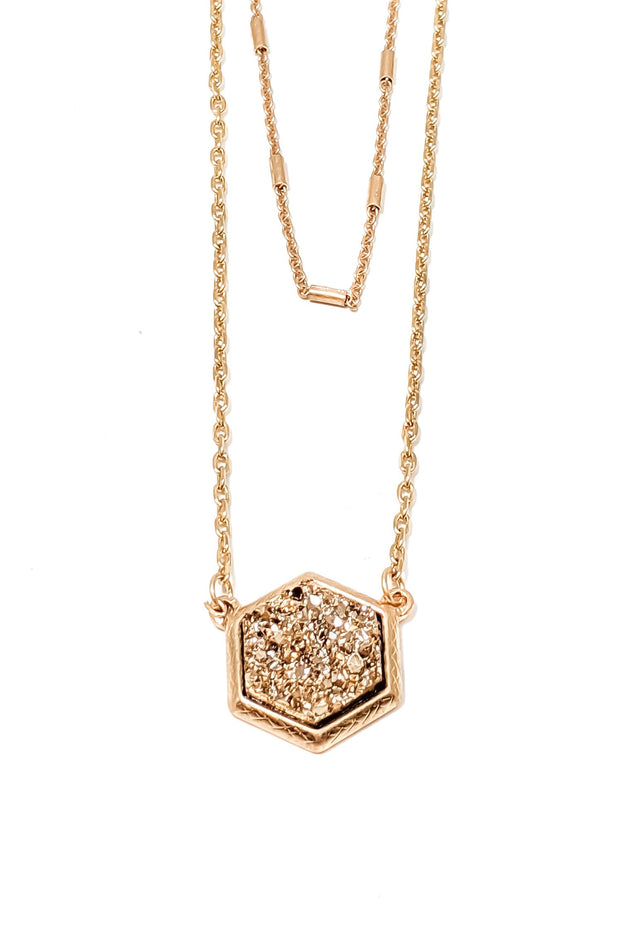 The Lottie Necklace (Rose Gold)