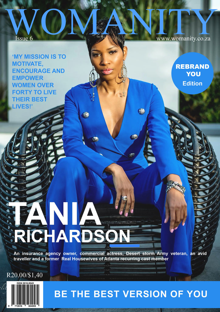 "Womanity Magazine ""COVERS"" Tania Richardson"
